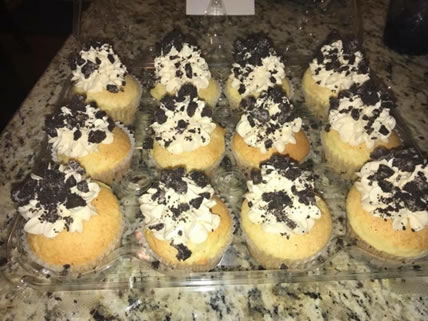 Oreo Cupcakes with Buttercream Frosting